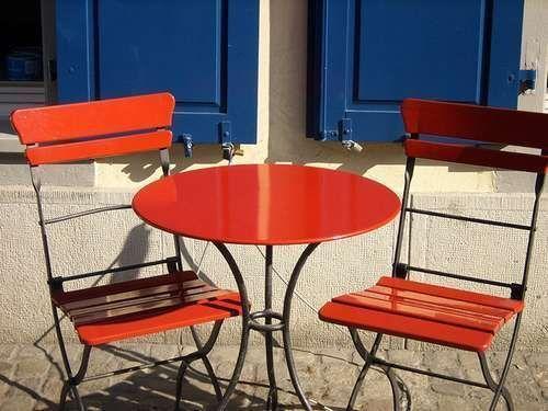 Table et chaise de jardin : Laquelle pour mon petit jardin. | Jardindeco
