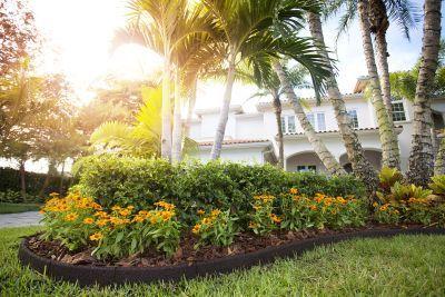Bordure de jardin am nager et d corer son jardin - Bordure caoutchouc jardin ...