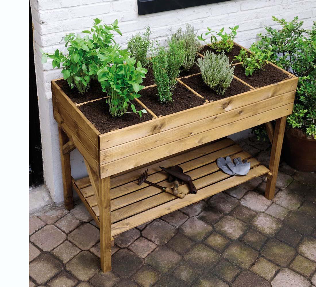 Fabriquer Potager Carré En Bois quelle terre choisir pour un carré potager ? - jardindeco