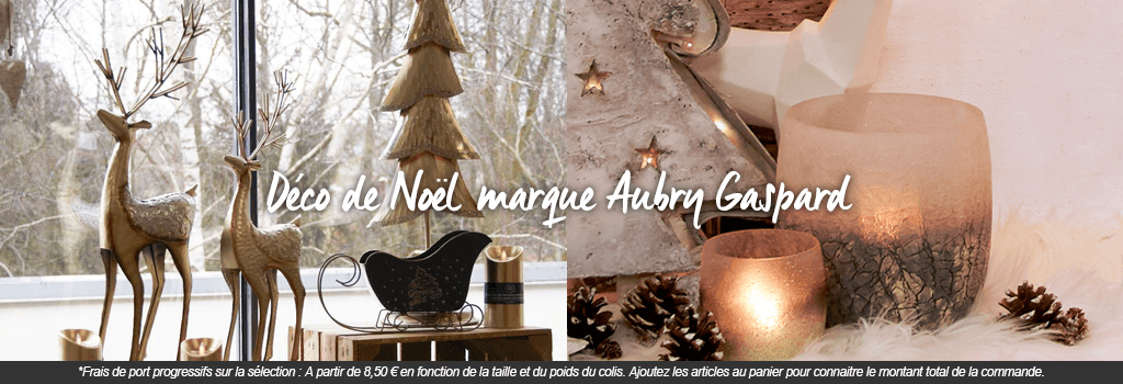 Décorations de Noël Aubry gaspard : evenenement shopping sur Jardindeco.com