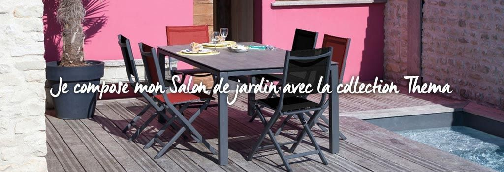 Composer son salon de jardin Proloisirs : evenenement shopping sur Jardindeco.com