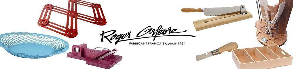 Roger Orfevre Set de 6 Piques /à bigorneaux avec Fourreau