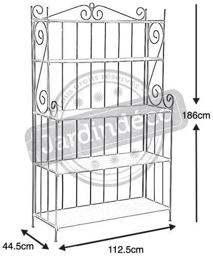 tag re bois et fer forg. Black Bedroom Furniture Sets. Home Design Ideas