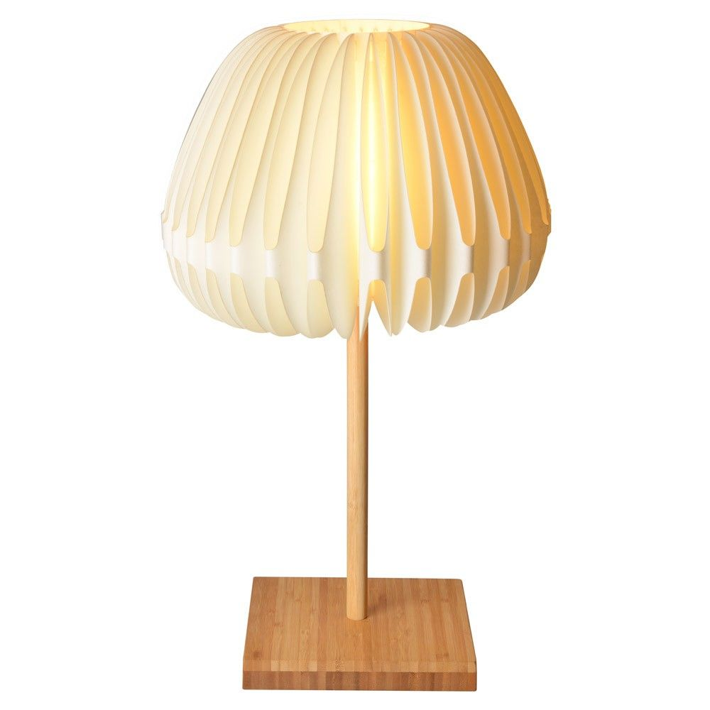 Lampe de chevet bambou et papier for Lampe de chevet london