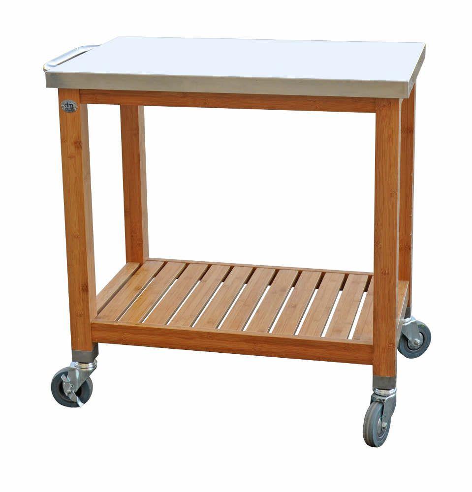 cuisine exterieure mobilier chariot desserte. Black Bedroom Furniture Sets. Home Design Ideas