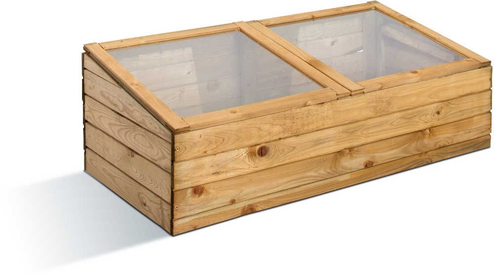 Petite serre de jardin en bois for Film plastique anti uv pour serre de jardin