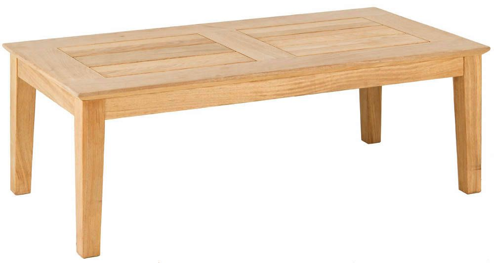 Table basse tivoli en roble fsc 120x61x43cm