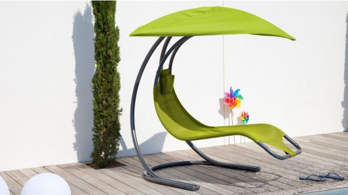 Chaise longue de jardin moderne for Chaise longue jardin jardiland