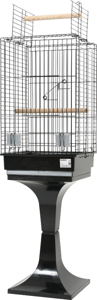 cage perroquet sur pied. Black Bedroom Furniture Sets. Home Design Ideas