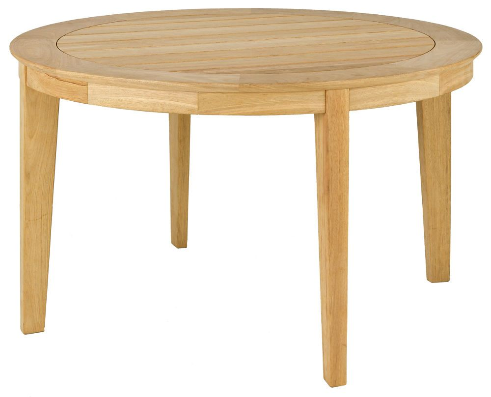 Table ronde tivoli en roble fsc 125x73cm