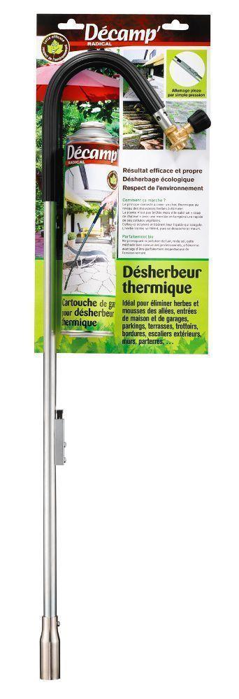 D�sherbeur thermique avec cartouche de gaz bio