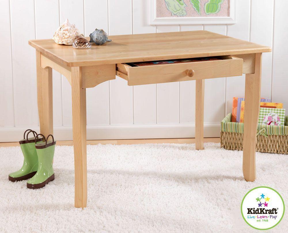 Table avalon pour enfant en bois 91x60x62cm