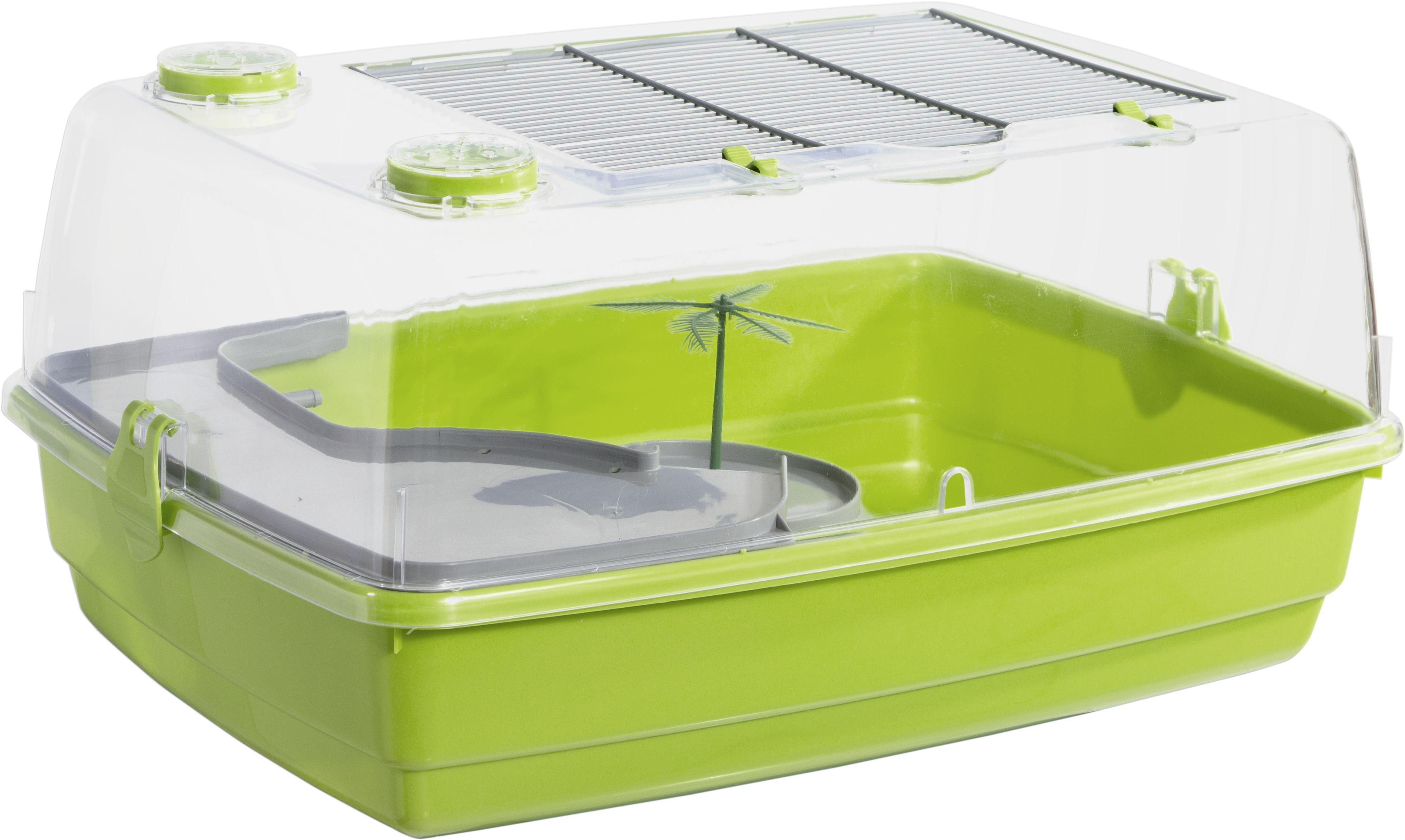 Vivarium pour petite tortue sur jardindeco for Maison plastique enfant pas cher
