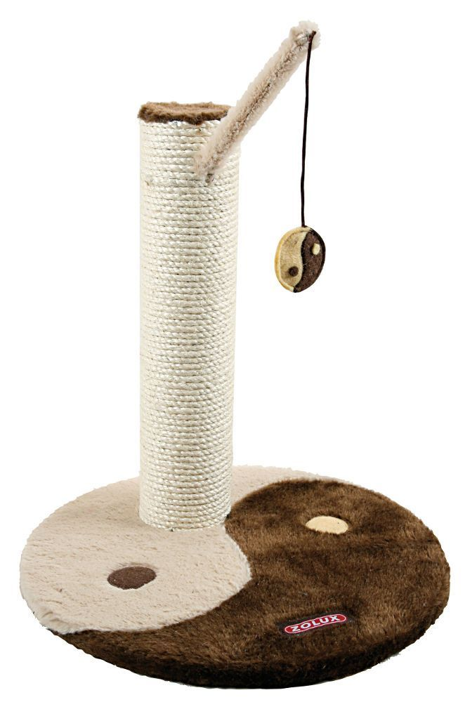 Poteau � griffer yin yang camel 40x40x42cm