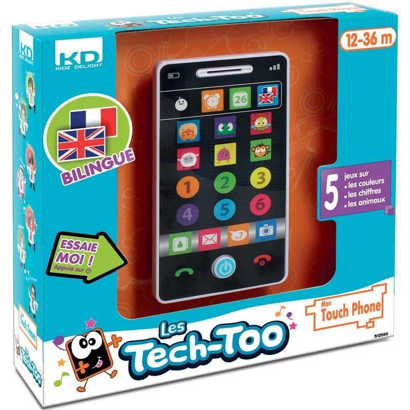 Smartphone �ducatif bilingue 7.5x2.5x14cm