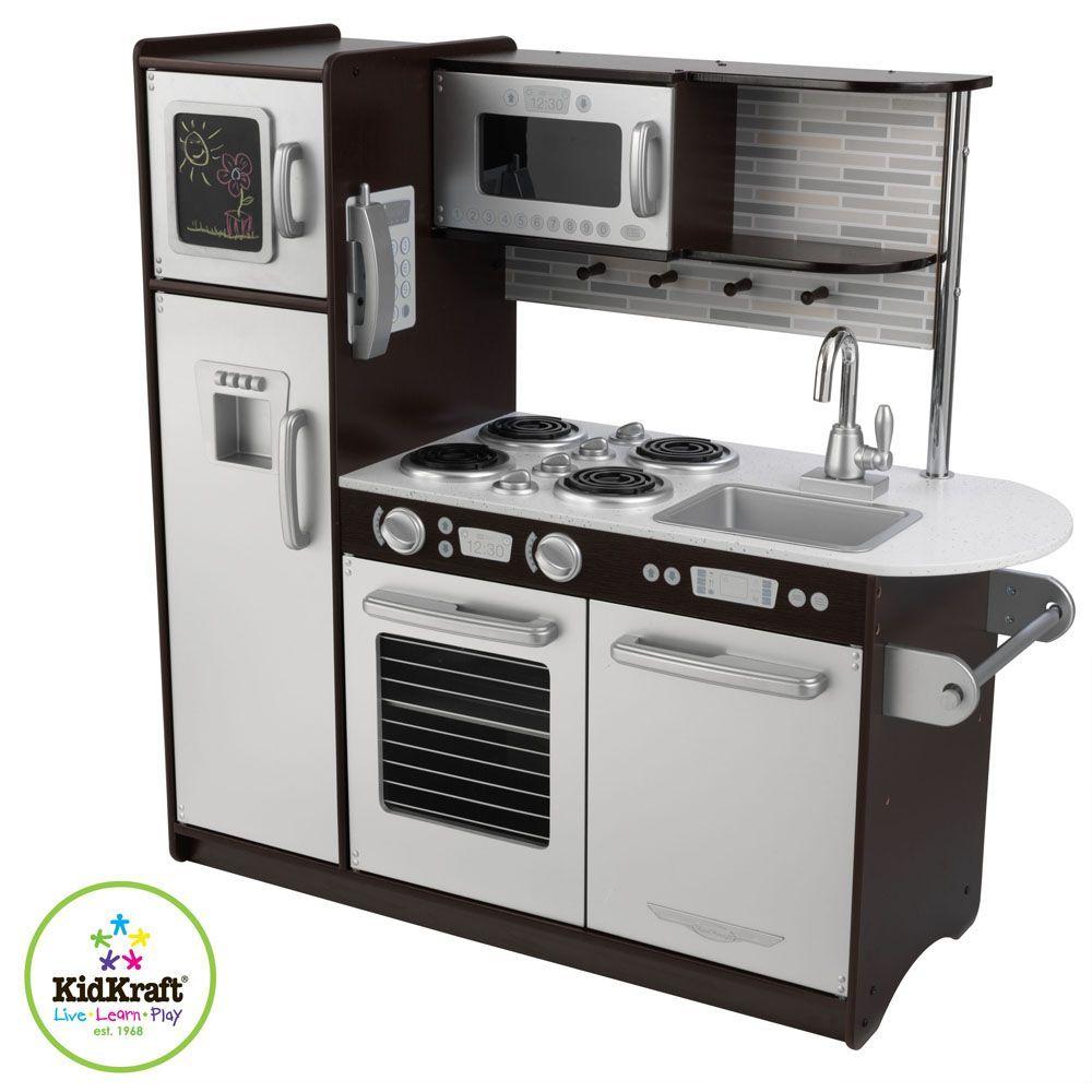 Cuisine pour enfant expresso cuisine vaisselle for Cuisine en bois pour enfant ikea