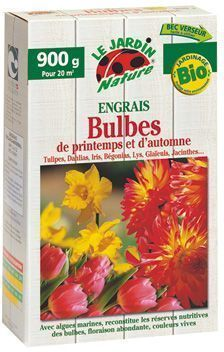 Engrais Bulbes naturel 900g