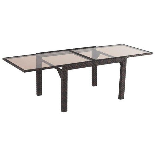 Table de jardin avec rallonge for Table exterieur a rallonge
