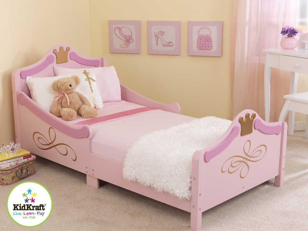lit pour enfant princesse lit kidkraft sur. Black Bedroom Furniture Sets. Home Design Ideas