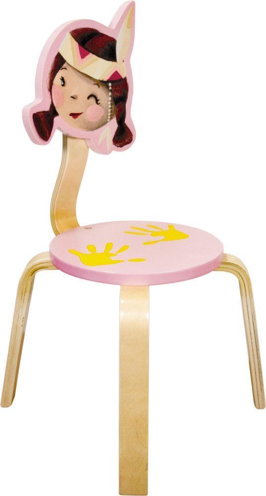Chaise pour enfant indienne