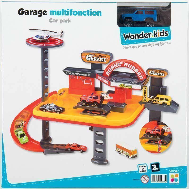 Garage multifonctions 2 niveaux 1 voiture m�tal