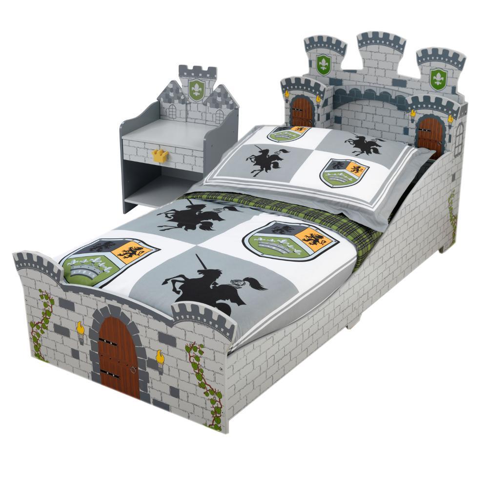 chambre ch teau fort lit chevet parure offerte chambre compl te kidkraft sur. Black Bedroom Furniture Sets. Home Design Ideas
