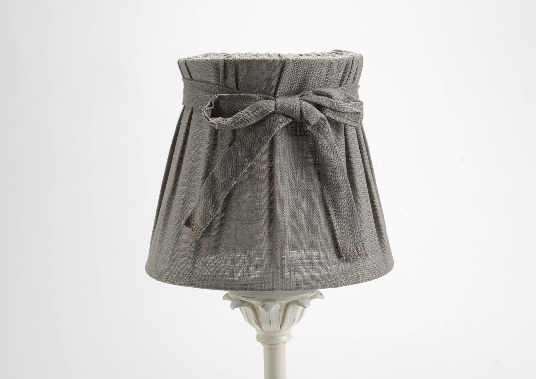 abat jour pliss gris. Black Bedroom Furniture Sets. Home Design Ideas
