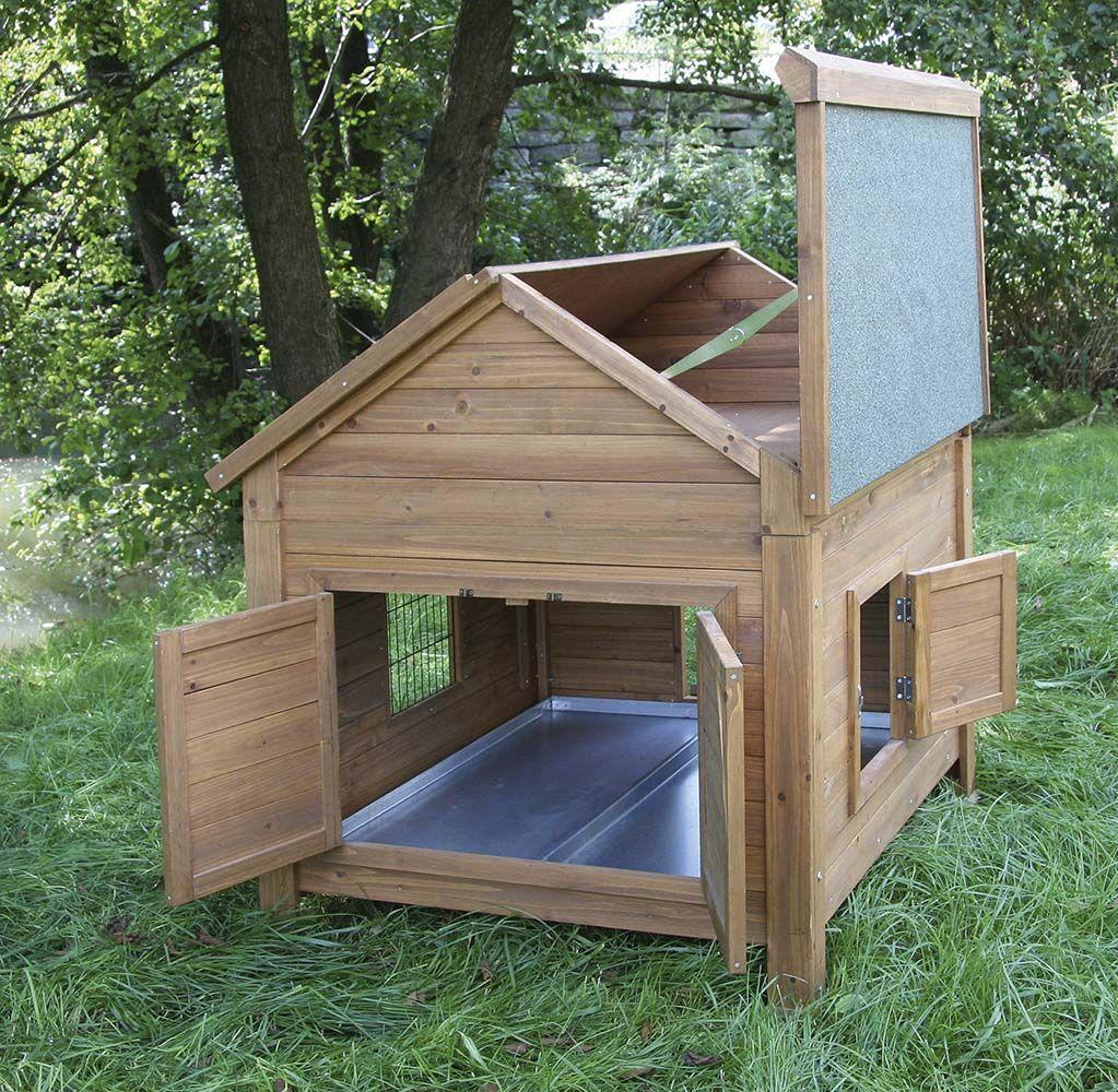 abri en bois poules ou lapins galep. Black Bedroom Furniture Sets. Home Design Ideas