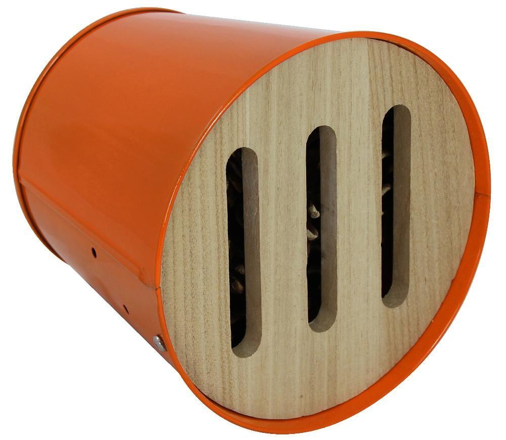 abri pour oiseaux et insectes multifonction garden life box orange. Black Bedroom Furniture Sets. Home Design Ideas
