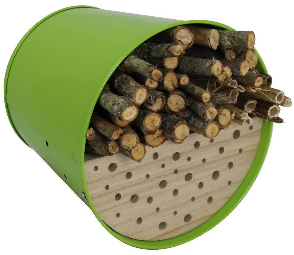 abri pour oiseaux et insectes multifonction garden life box vert olive. Black Bedroom Furniture Sets. Home Design Ideas