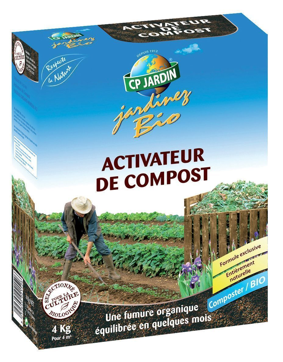 Activateur de compost 4kg by Cp jardin