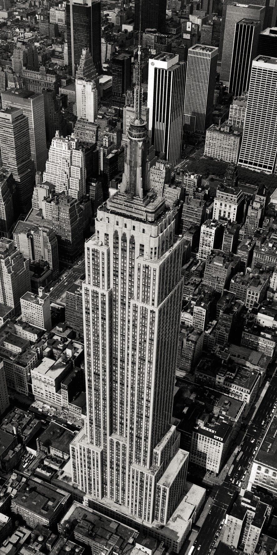 Affiche Empire State Building New York 1978 sur Jardindeco