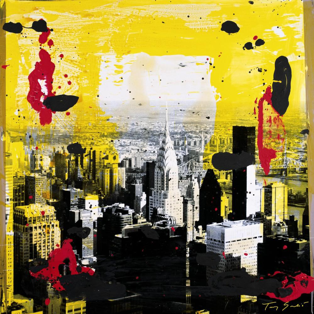 Affiche Yellow City