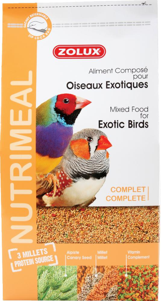Aliment complet oiseaux exotiques by Zolux