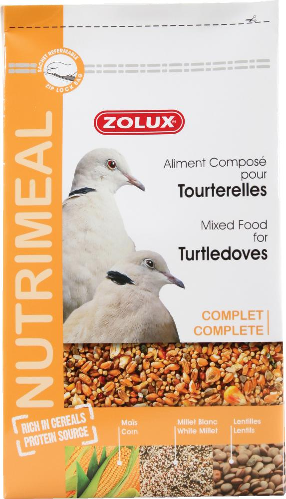 Aliment complet tourterelles by Zolux