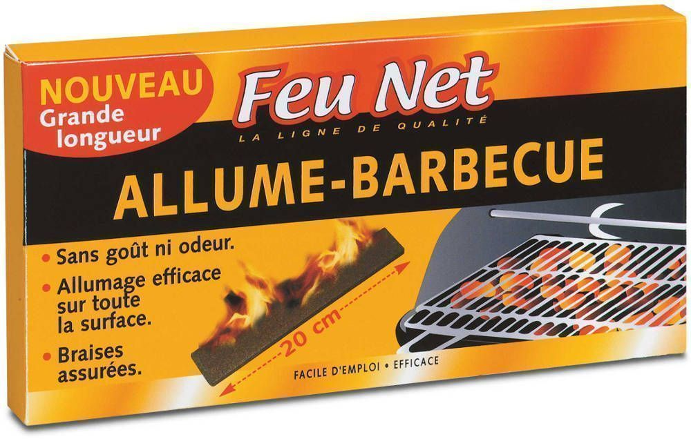 Allume barbecue 18 barrettes