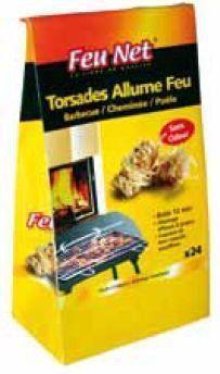 Allume Feu Cire : allume feu cire 24 torsades ~ Premium-room.com Idées de Décoration