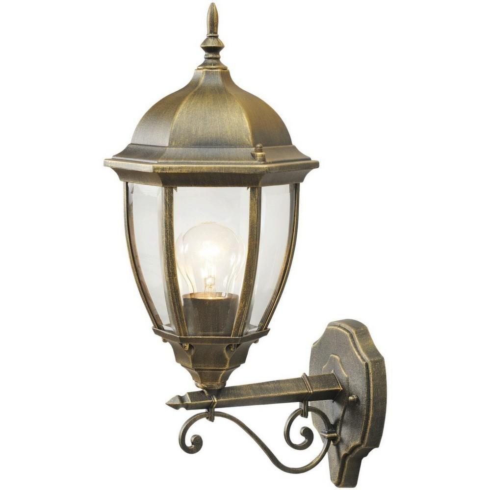 Applique ext rieure r tro lampe de jardin chic for Lampe exterieur jardin