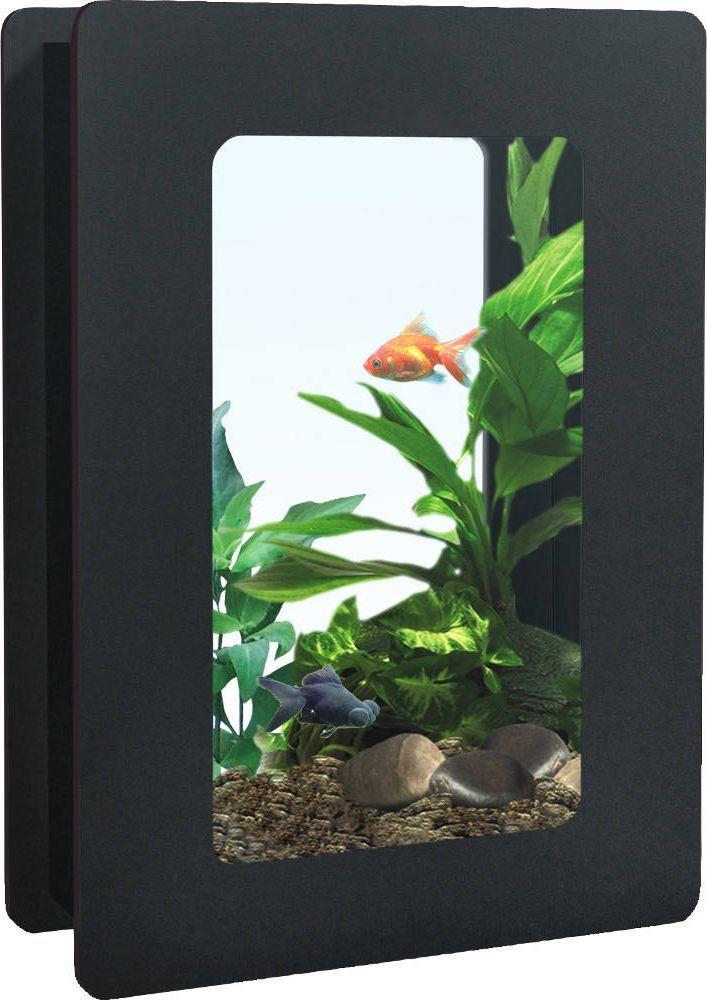 Aquarium nano fashion noir 11 litres for Aquarium zolux