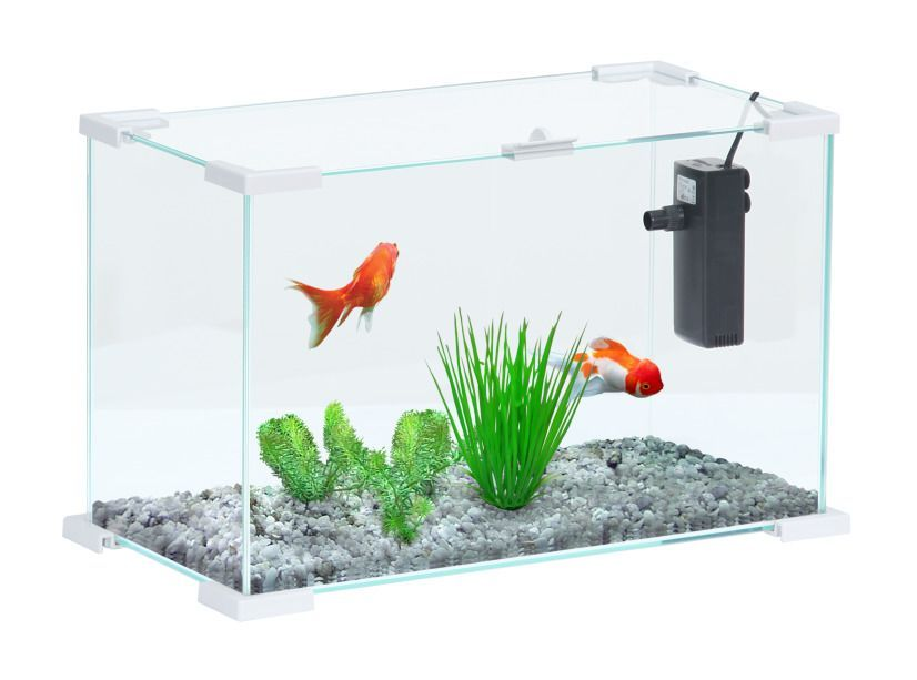 Aquarium nanolife first blanc for Aquarium original pas cher