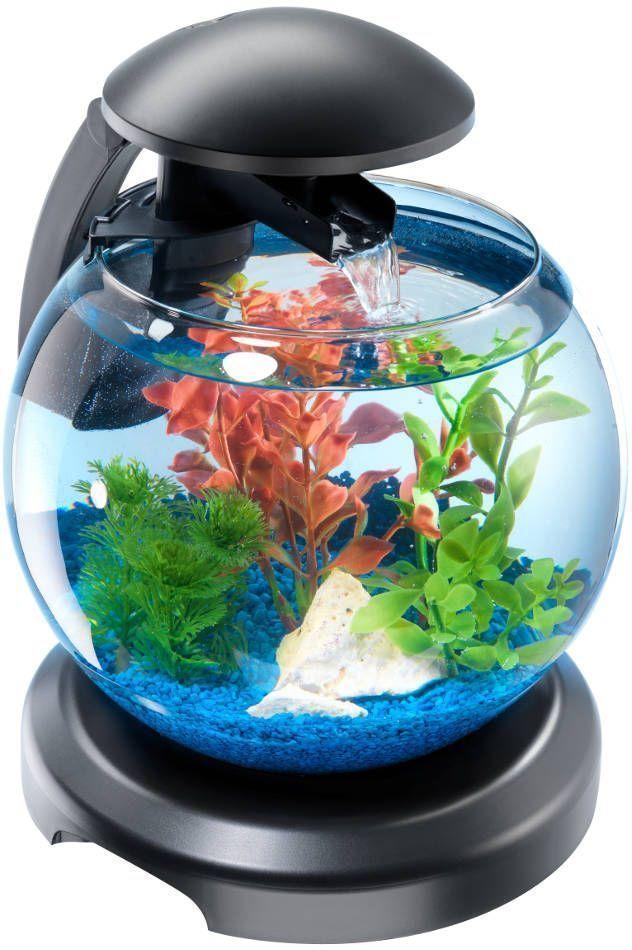Aquarium tetra cascade globe 6 8 litres for Accessoire aquarium