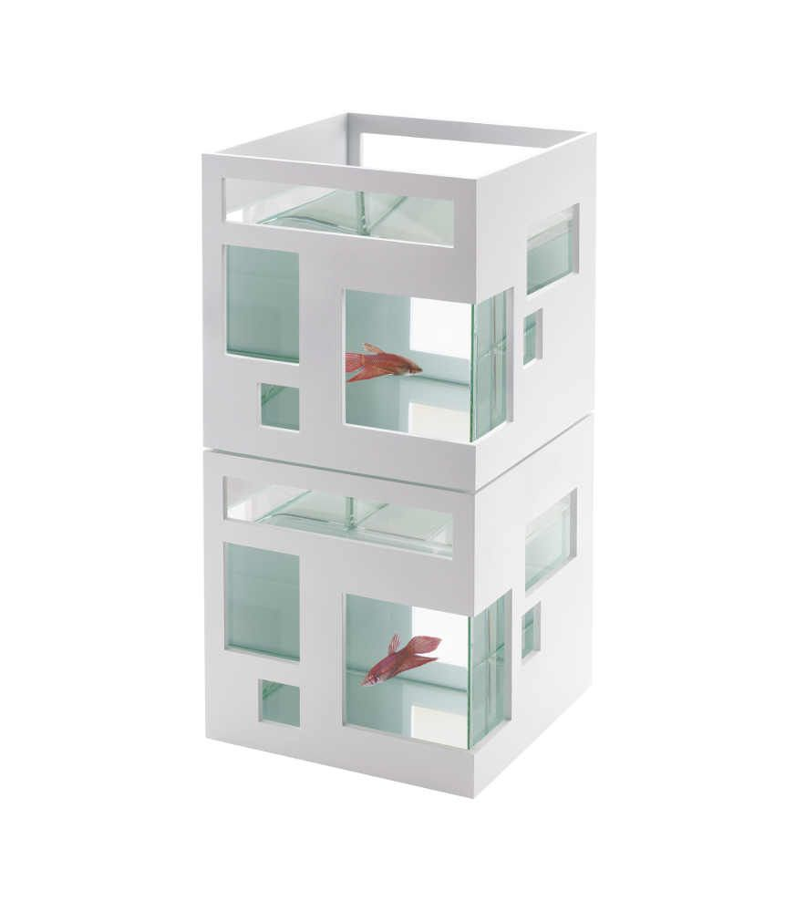 Aquarium design h tel 7 litres for Design hotel speicher 7