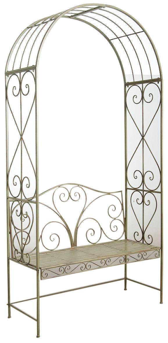 arche de jardin avec banc. Black Bedroom Furniture Sets. Home Design Ideas
