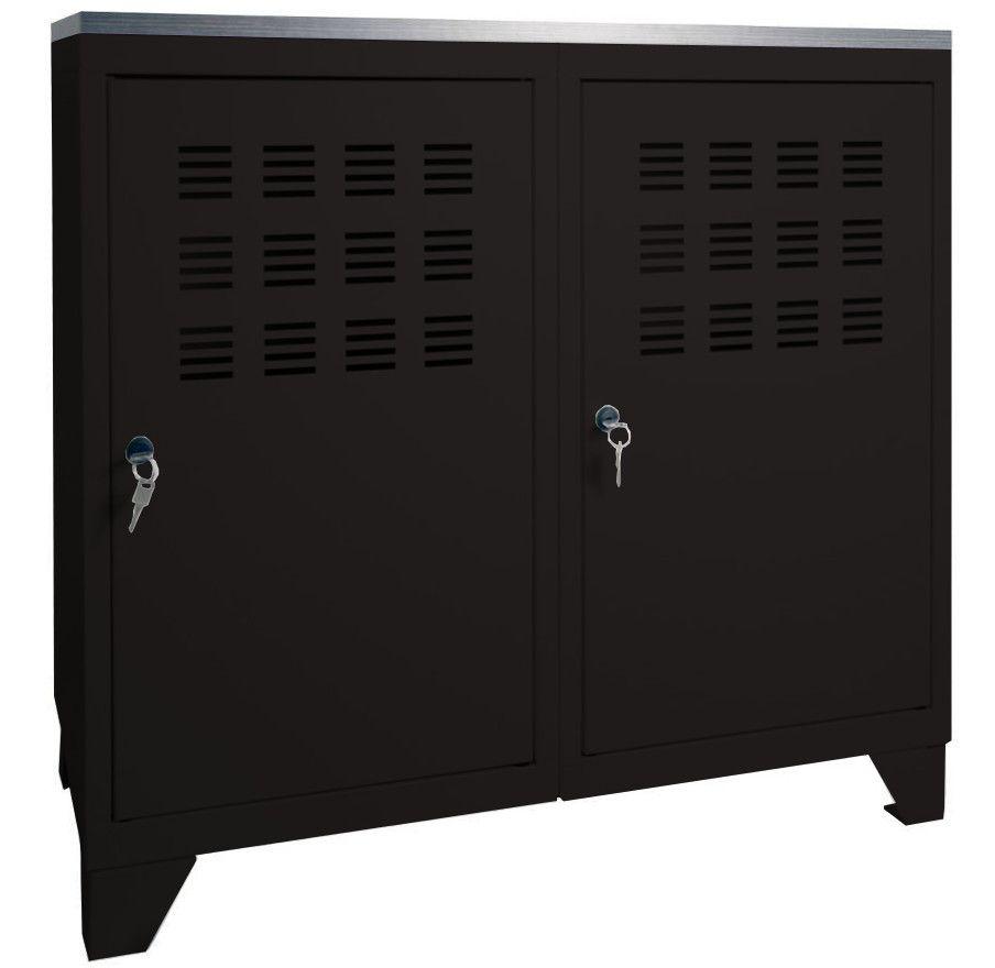 Armoire de rangement m tal 1 porte for Un meuble de rangement