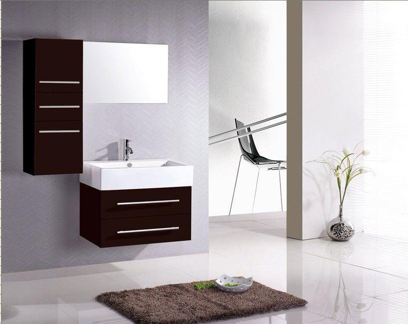 Rangement meuble salle de bain - Miroir salle de bain avec rangement ...