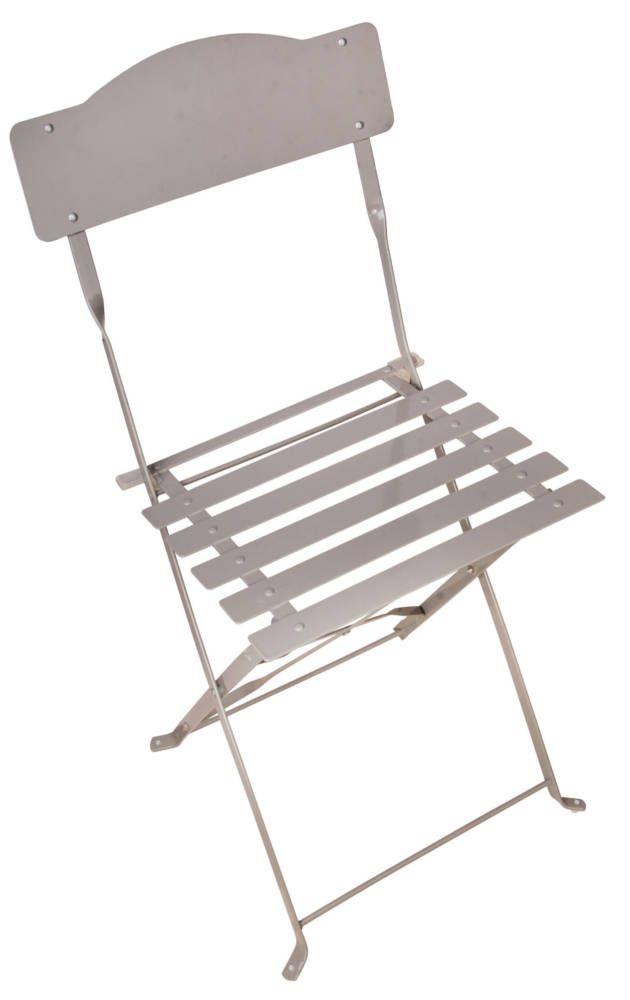 chaise bistrot pliante accessoires my balconia by esschert design sur. Black Bedroom Furniture Sets. Home Design Ideas
