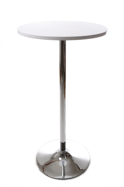 Table mange debout lila bar tabouret kokoon design sur - Table haute laquee blanche ...