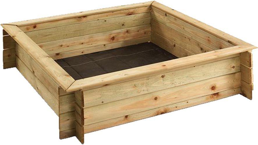 bac sable en bois avec couvercle. Black Bedroom Furniture Sets. Home Design Ideas