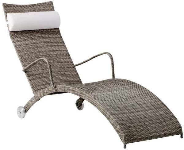 bain de soleil taupe helena en fibre et acier bains de. Black Bedroom Furniture Sets. Home Design Ideas