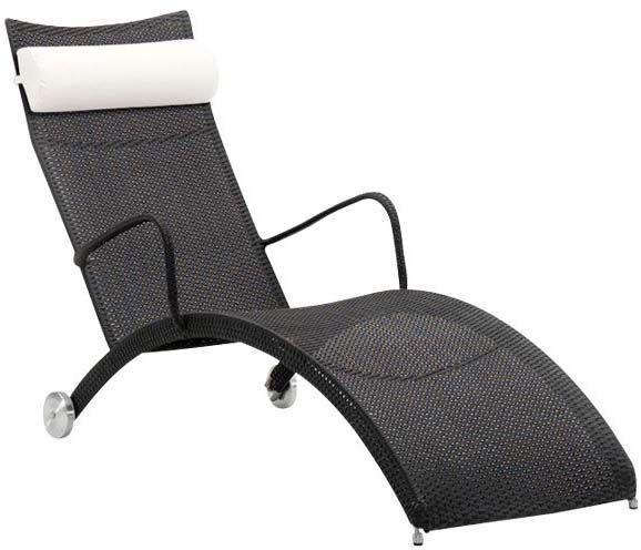 bain de soleil noir helena en fibre et acier bains de. Black Bedroom Furniture Sets. Home Design Ideas